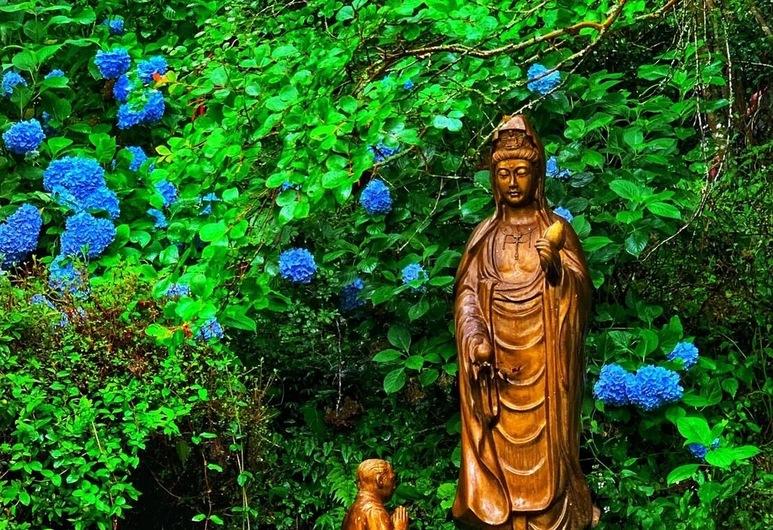 季の郷 山の湯, 玖珠郡, 庭園