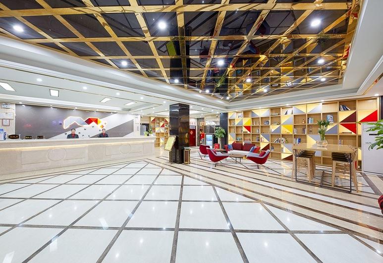 Borrman Hotel Guangzhou Airport, Guangzhou, Lobby