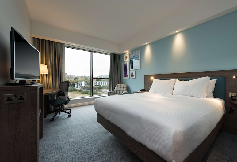 Hampton by Hilton Edinburgh West End, Edinburgh, Zimmer, 1 Queen-Bett, Ausblick vom Zimmer