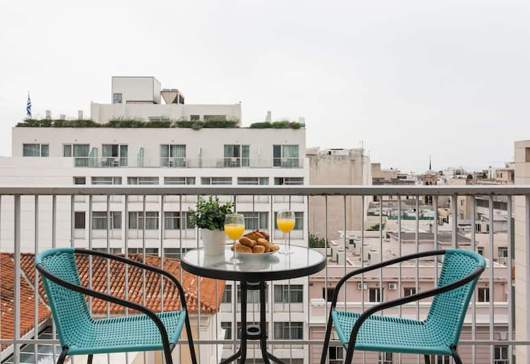 신타그마 스퀘어 아파트먼트 바이 리빈 어번, 아테네, 시티 아파트, 퀸사이즈침대 1개, 시내 전망, 객실