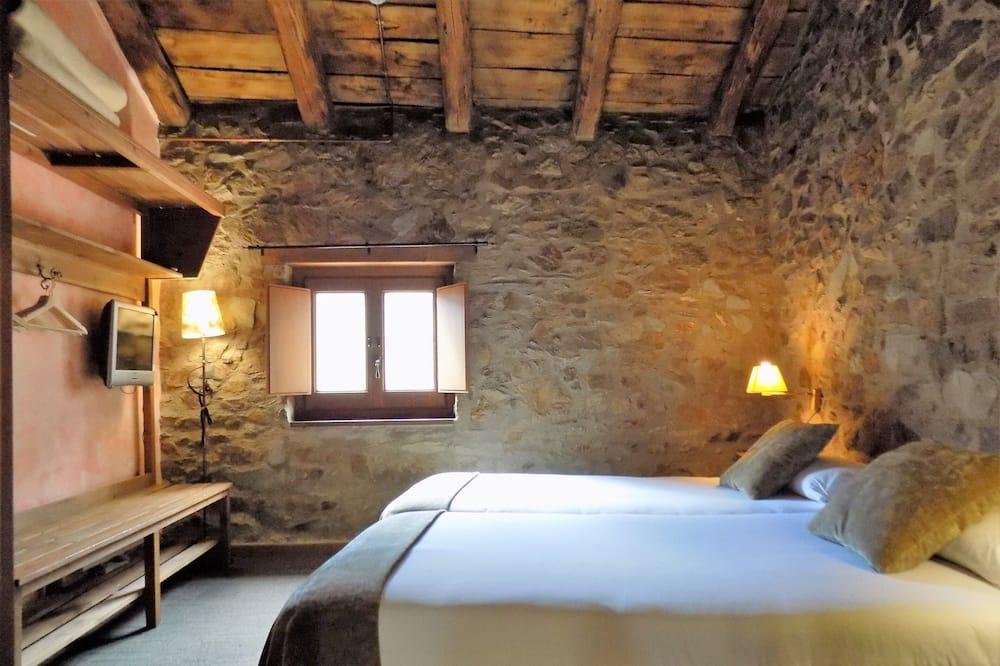 Standard-Doppelzimmer, 1 Doppelbett oder 2 Einzelbetten, Bergblick - Zimmer