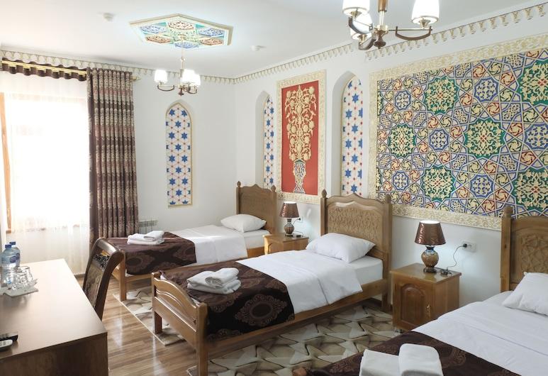 Bukhara Baraka Hotel, Bukhara, Dreibettzimmer, Zimmer