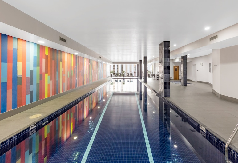 Meriton Suites Campbell Street, Sydney, Haymarket, Krytý bazén