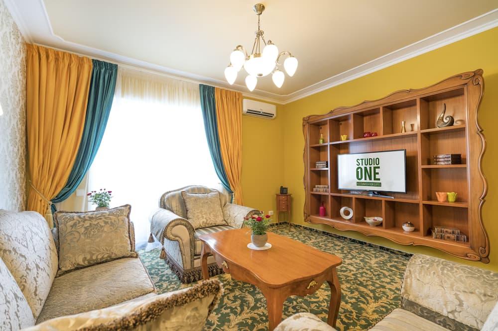 Presidential Suite, 1 Bedroom, Kitchen - Bilik Rehat