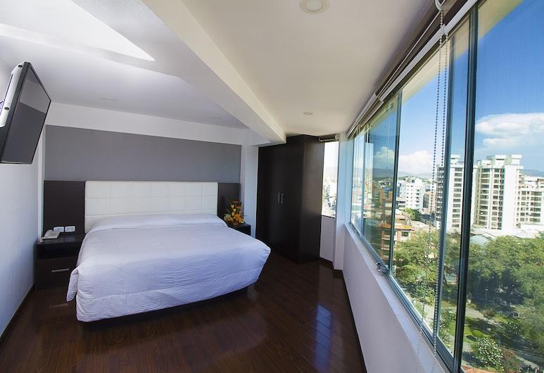 Apart Hotel Regina, Cochabamba, Dobbeltværelse til 1 person - 1 queensize-seng, Byudsigt