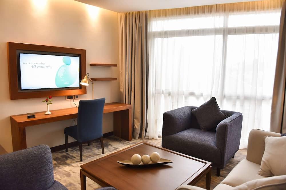슈피리어룸, 싱글침대 2개, 발코니 - 객실