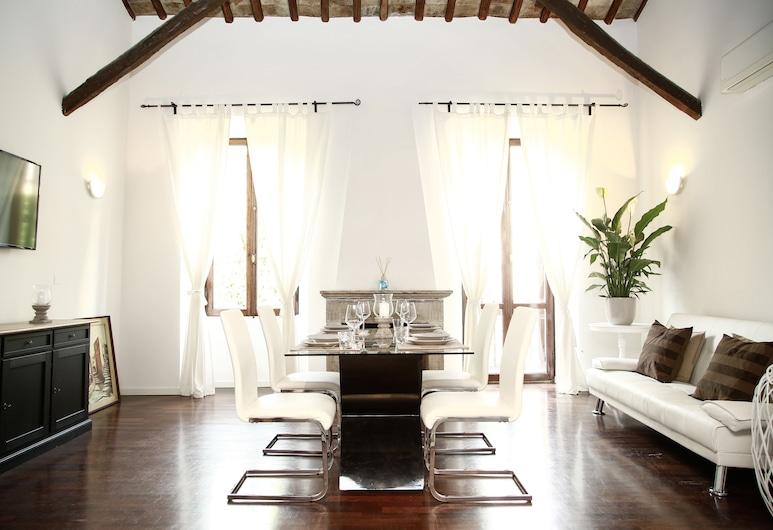 Vicolo Moroni Apartment, Roma, Loftsrom – deluxe, 2 soverom, Stue