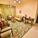 สแตนดาร์ดอพาร์ทเมนท์, 1 ห้องนอน (1 Double Bed) - ห้องนั่งเล่น
