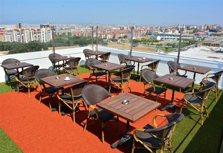 Adranos Hotel, Bursa, Terraza o patio