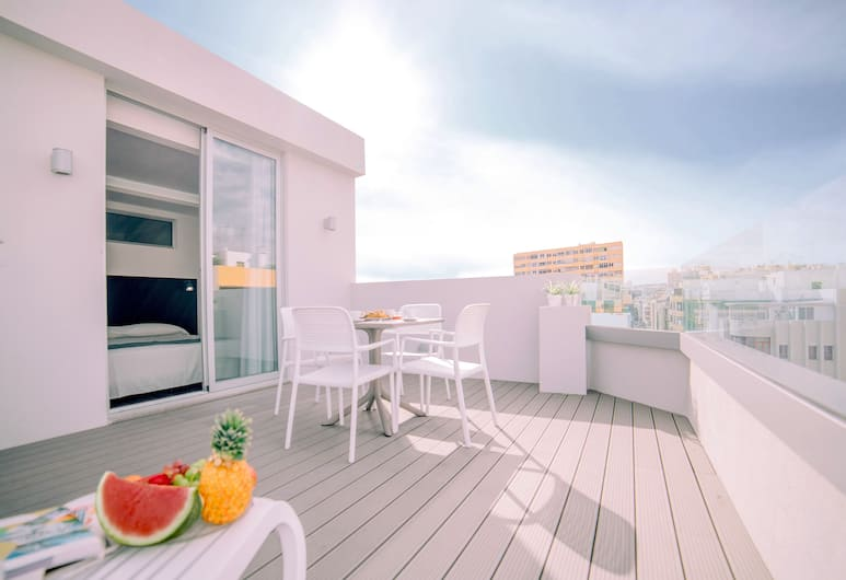Mannix Urban Apartments, Las Palmas de Gran Canaria, Attico, Terrazza/Patio