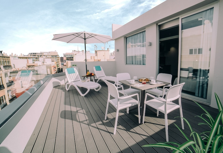 Mannix Urban Apartments, Las Palmas de Gran Canaria, Kattohuoneisto, Terassi/patio