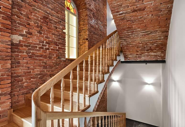 1891 アパートホテル, クラクフ, 階段