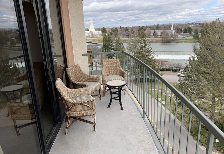 Quality Inn & Suites Idaho Falls, Idaho Falls, Chambre Standard, 1 très grand lit et 1 canapé-lit, non-fumeurs, avec vue (2 Person Sofa bed), Chambre