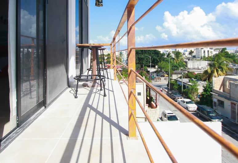 빌라 이사, 플라야 델 카르멘, Double Room with Balcony, 발코니