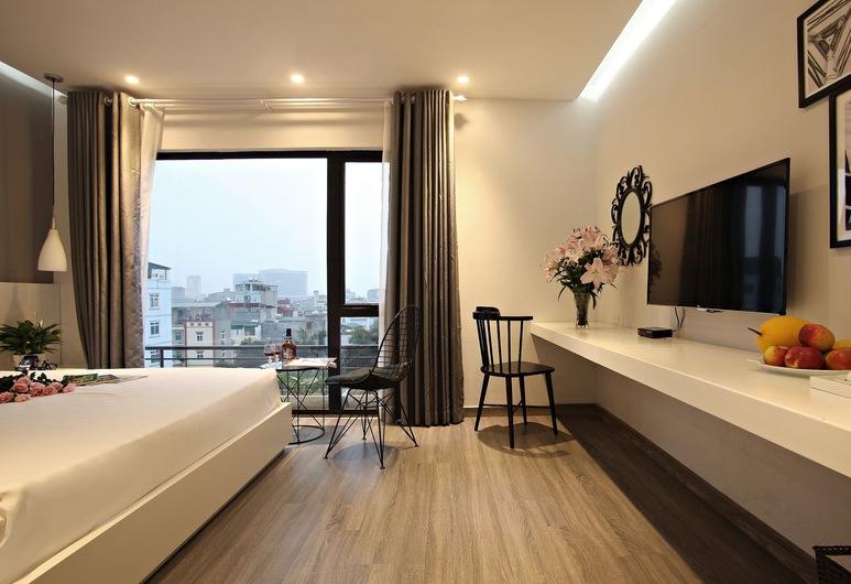 Hanoi Ping Luxury Hotel, Hanoi, Deluxe Double Room, Guest Room