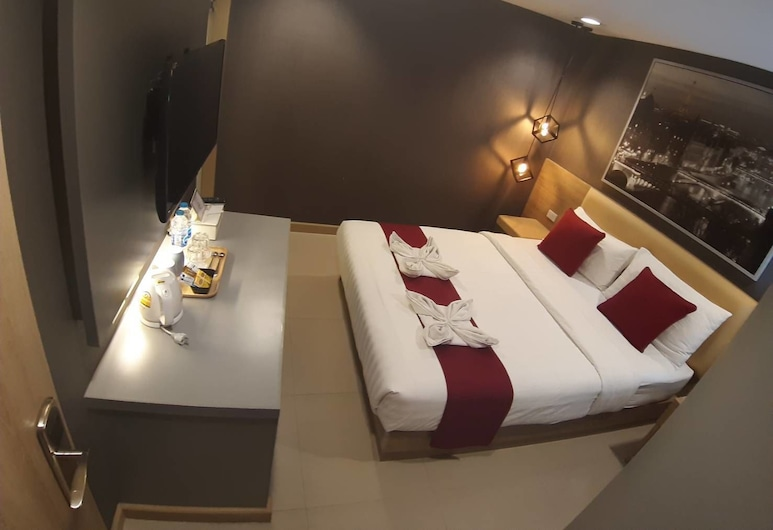 Pratunam 19 hotel, Bangkok, Superior-Doppelzimmer, Zimmer