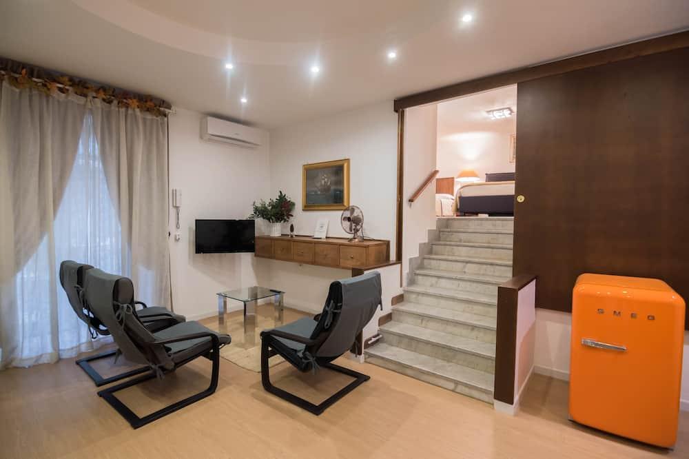 Appartamento Superior, 1 camera da letto, balcone - Area soggiorno