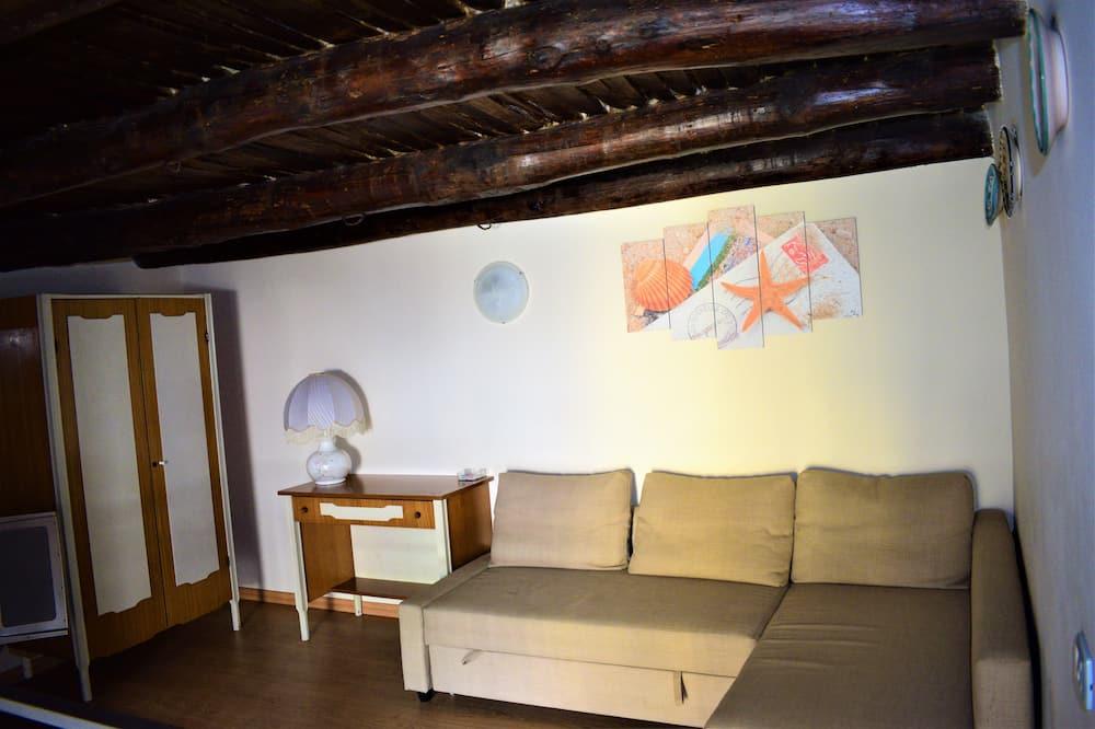 apartman, 2 hálószobával, terasz - Nappali rész