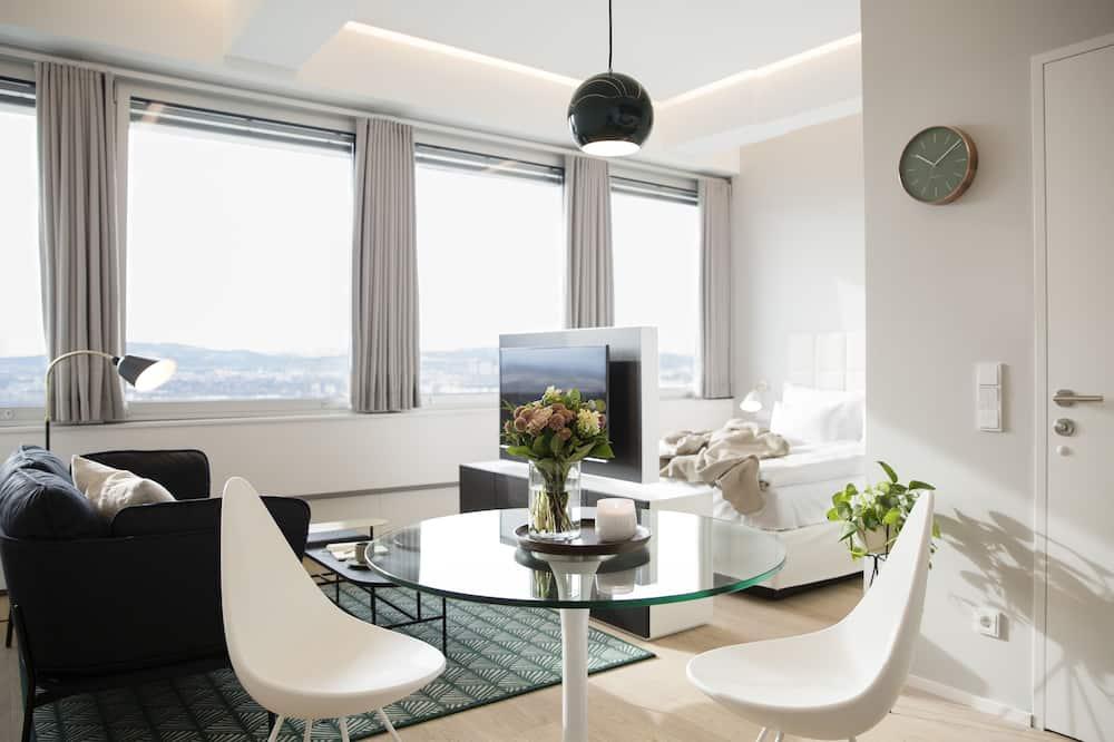 Classic-lejlighed - 1 queensize-seng - Opholdsområde