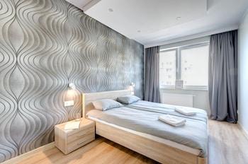 ภาพ Elite Apartments Marine Suite ใน กดันสค์