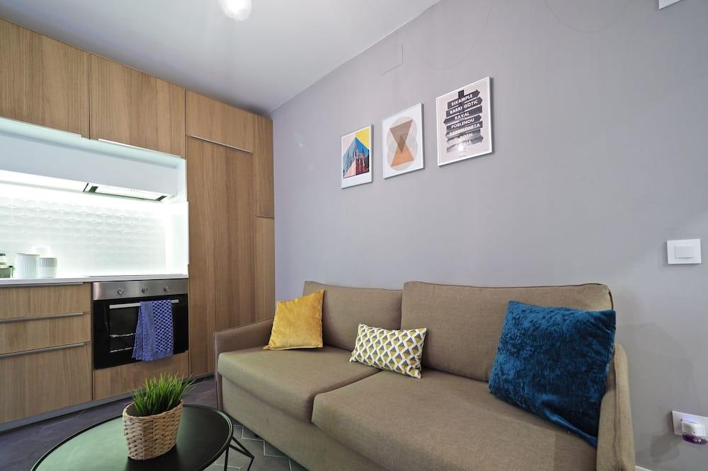 apartman, 1 hálószobával, földszinti - Nappali rész
