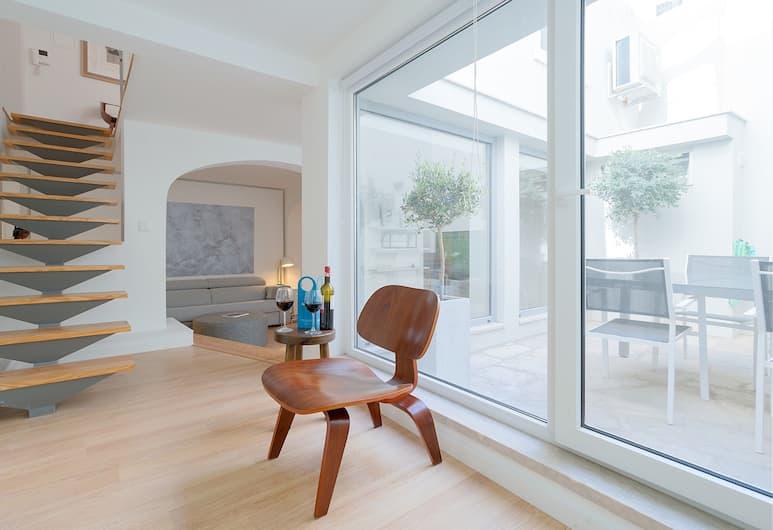 Sweet Inn Apartments Liberdade II, Lisbonne, Appartement, 2 chambres (Gloria CV), Coin séjour