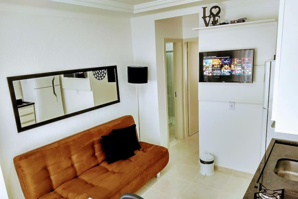 Family Apartment, 1 Bedroom - Living Area
