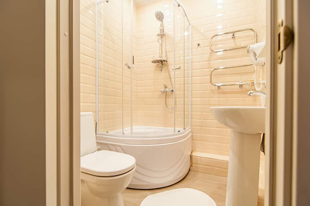 Doppelzimmer (Extra bed) - Badezimmer