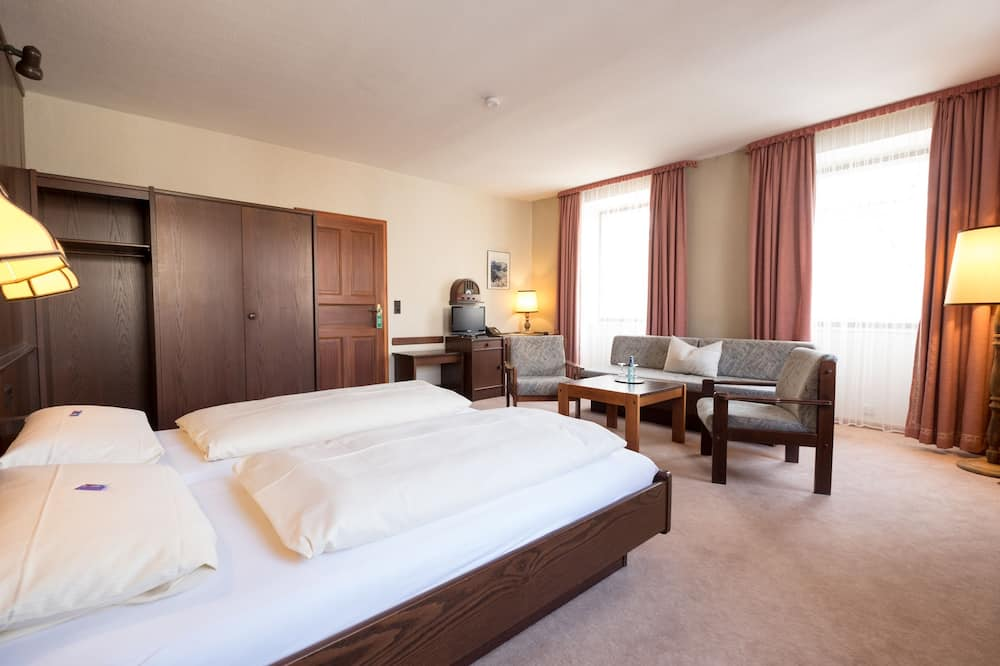 Standard Double Room, 1 King Bed - Living Area