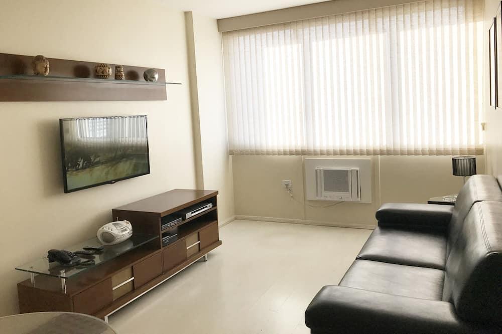 דירה קלאסית, חדר שינה אחד, למעשנים - אזור מגורים