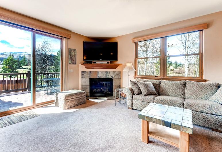 North Breckenridge - Golf Course by CRMR, Breckenridge, Kooperatīva tūristu mītne, trīs guļamistabas (19), Dzīvojamā istaba