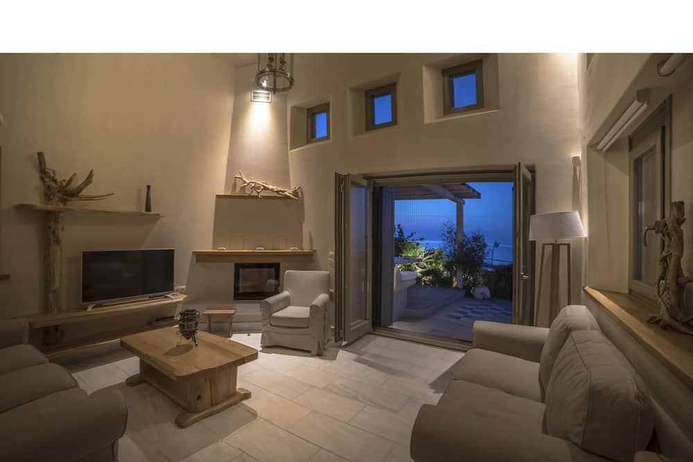 Luxury-Villa, 3Schlafzimmer, 2 Bäder, Strandnähe - Wohnbereich