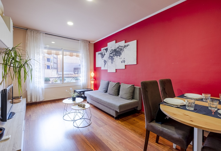 Comfortable 3BR Apartment Close to Placa Espana and Sants Station, Barcelone, Appartement Affaires, 3 chambres, Chambre