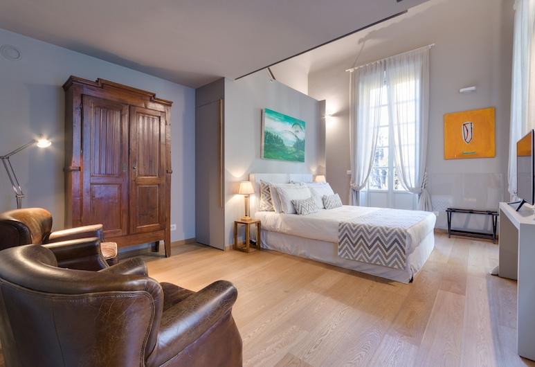 Palazzo del Carretto, Turin, Deluxe Apartment, 1 Queen Bed, Kitchenette, Garden View, Room