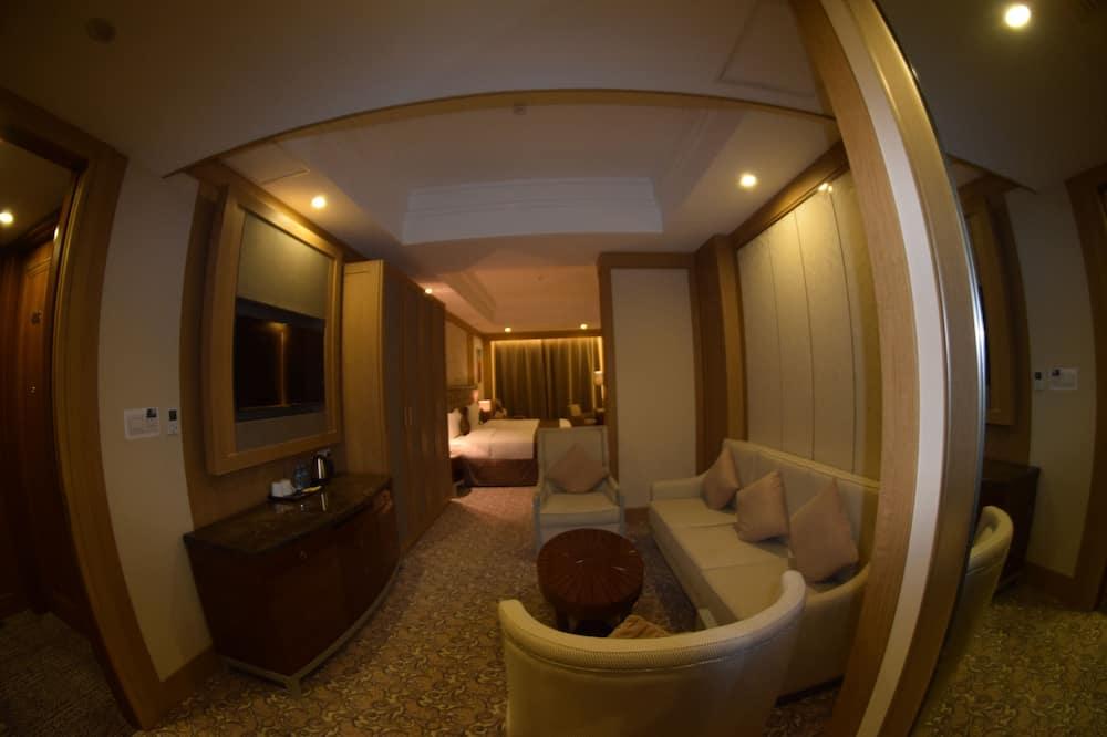 ビジネス ツインルーム 1 ベッドルーム - リビング エリア