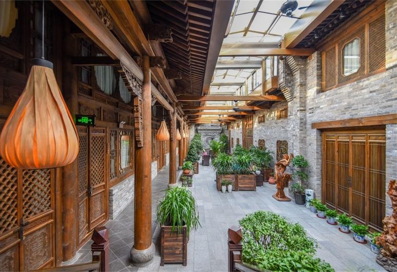 Water Hotel Pingyao, Jinzhong, Innenhof