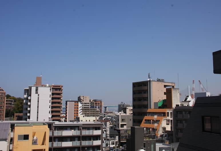 오호리 하우스, 후쿠오카, 숙박 시설에서 보이는 전망