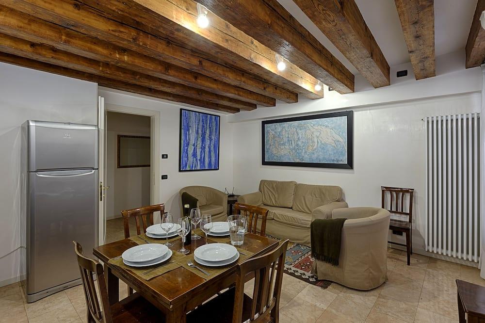 شقة - غرفتا نوم - بحمامين (Calle Rizzo,San Polo 1519 B) - منطقة المعيشة