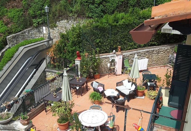 Casa Kita, Cortona, Terasa / vidinis kiemas