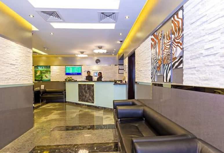 Oasis Deira Hotel, Dubajus, Poilsio zona vestibiulyje