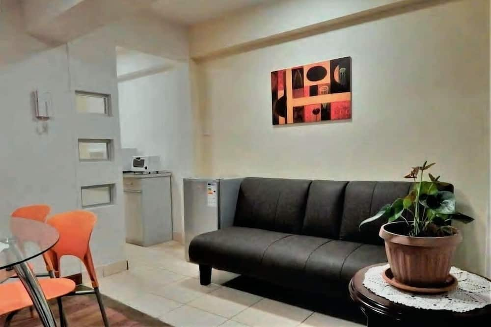 Garden Apartment - リビング エリア