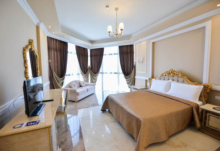 Hotel Luani Arte, Shkoder, Deluxe Double Room, Guest Room