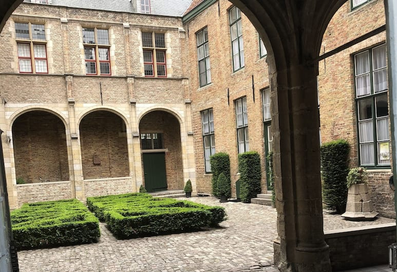 Hotel Lucca, Bruges, Fachada