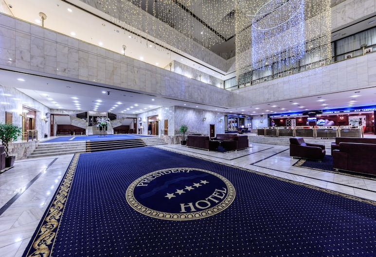 President-Hotel, Moscow, Lobby