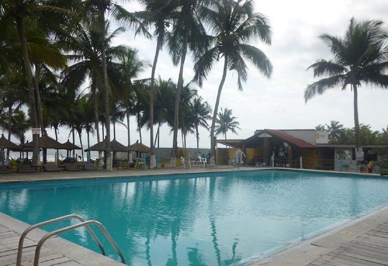 Le Wharf Hotel, Grand-Bassam, Pool