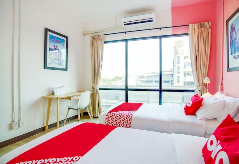OYO 559 Vestel, Μπανγκόκ, Basic Δίκλινο Δωμάτιο (Twin), Δωμάτιο επισκεπτών