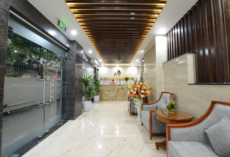 Blue Hanoi Inn City Hotel, Hanoi, Zitruimte lobby