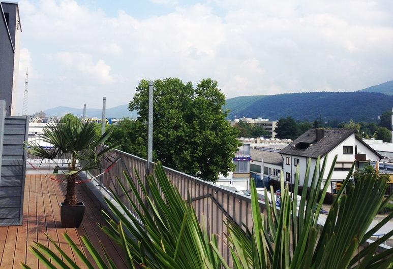 Boardinghotel Heidelberg, Heidelberg, Doppelzimmer, Balkon, Balkon