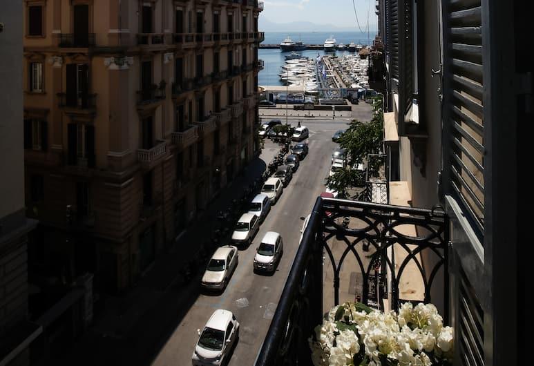 葛蘭西豪華酒店, 那不勒斯, 雙人房, 露台, 海景 (102), 街景