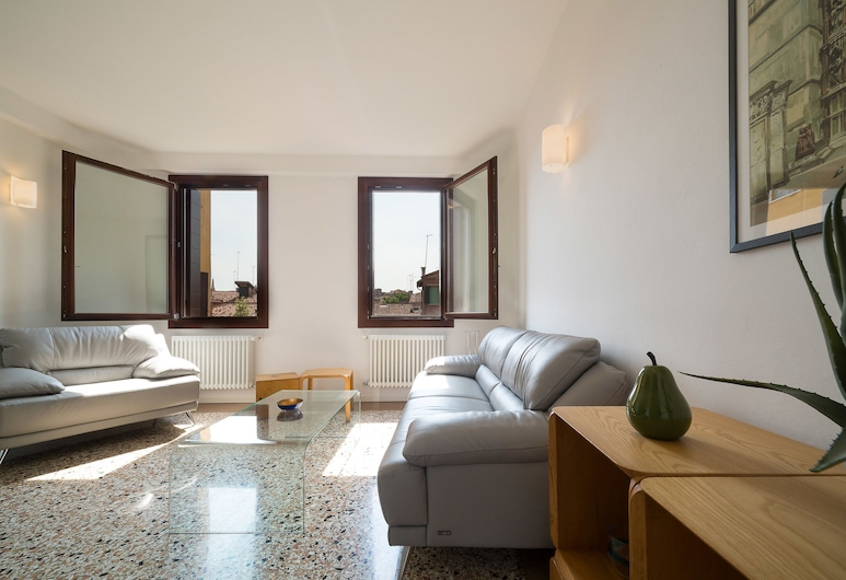 V.e.N.I.Ce Cera Casa Margherita, Venedig, Apartment, 2Schlafzimmer, Wohnbereich